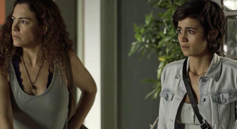 Relação de Selma e Maura é descoberta por Agenor (Foto: TV Globo)