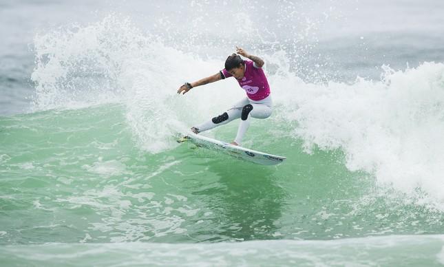 Silvana Lima competindo em Itaúna