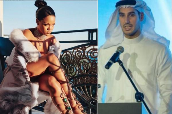A cantora Rihanna e seu suposto novo namorado (Foto: Instagram/Divulgação)