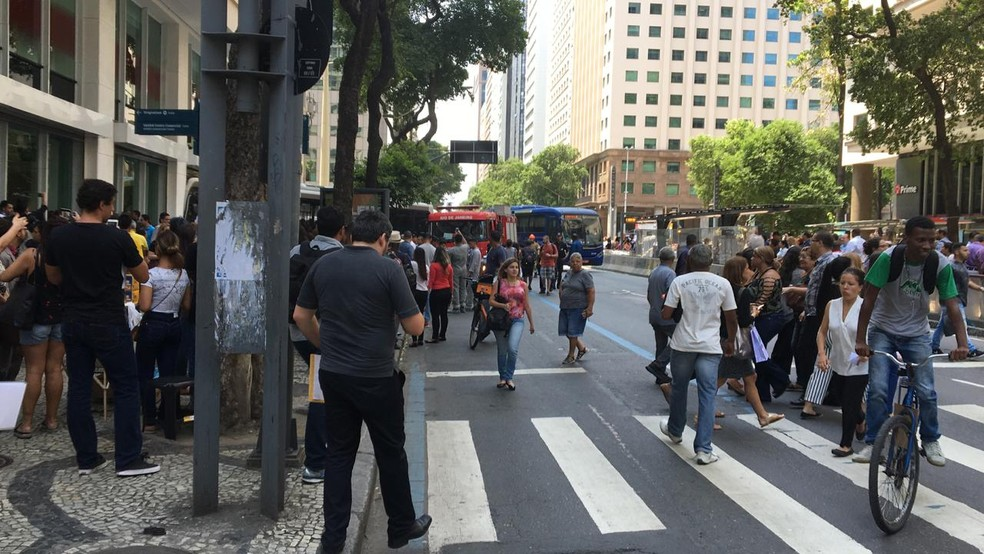 Local do acidente na Presidente Vargas — Foto: Oscar Lázaro/Arquivo Pessoal