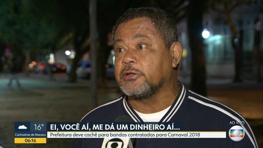 Bandas que tocaram no carnaval esperam cachê da Prefeitura do Rio há cinco meses