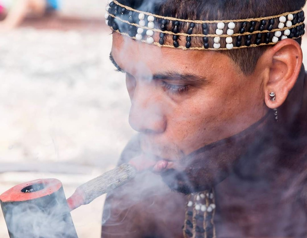 Douglas Krenak, líder indígena — Foto: Douglas Krenak/Arquivo pessoal