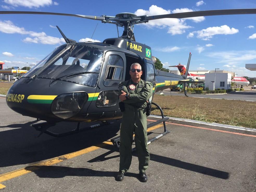 Renato de Oliveira Souza era agente da Polícia Civil do DF — Foto: Arquivo Pessoal