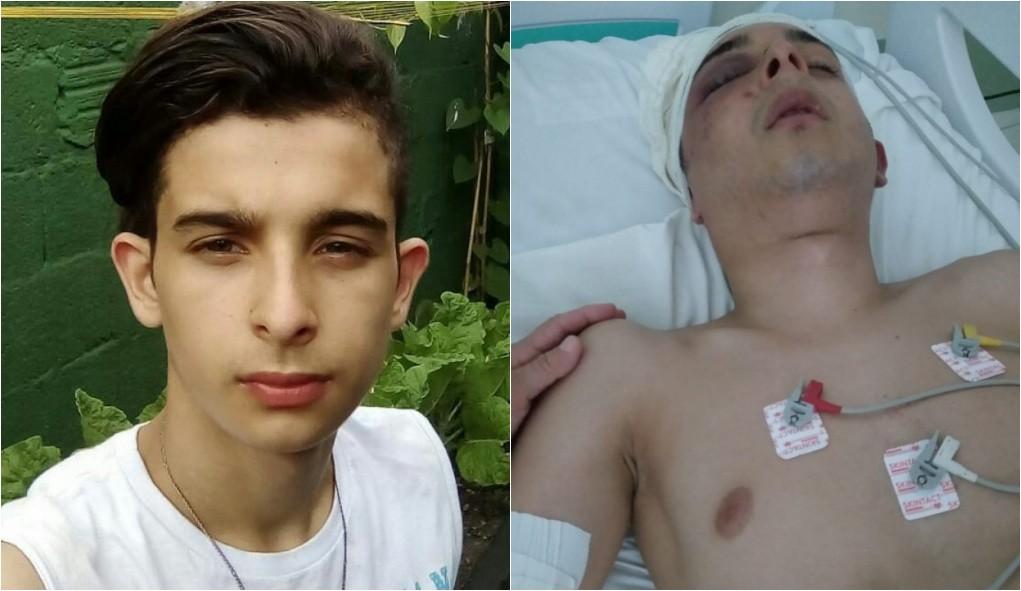 Jovem que ficou paralisado após ser espancado dentro de ala psiquiátrica volta a falar: 'Muito feliz'