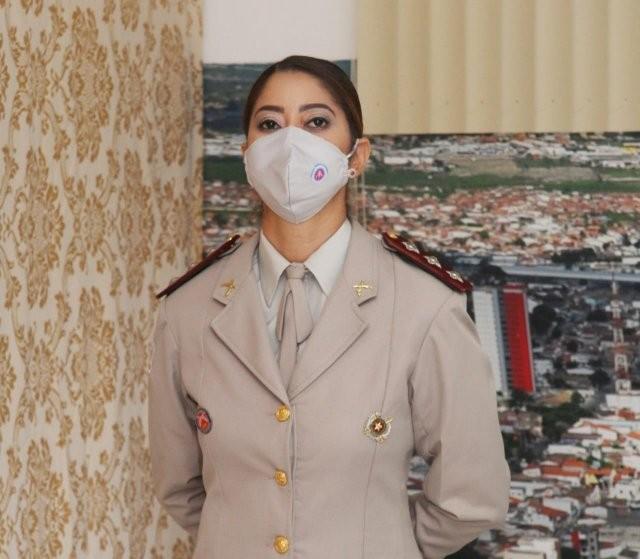 Capitã de 42 anos é primeira mulher a comandar companhia da PM em Feira de Santana