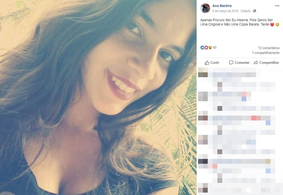 Ana Paula Sagui de Paula morreu após parto normal em hospital de Boituva (SP) — Foto: Reprodução/Facebook