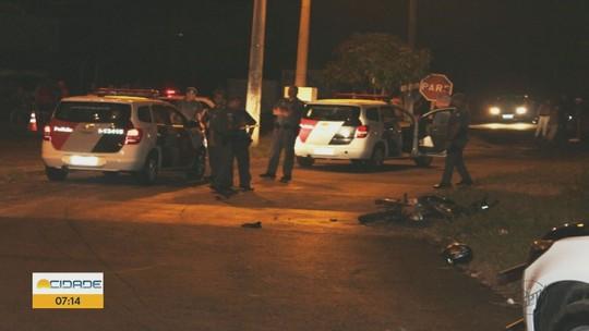 Policial fica ferido em troca de tiros com assaltantes em Matão, SP
