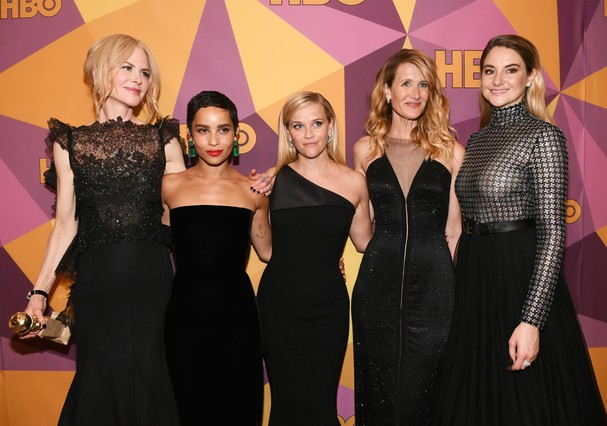 Elenco de Big Little Lies no Globo de Ouro (Foto: Getty Images)