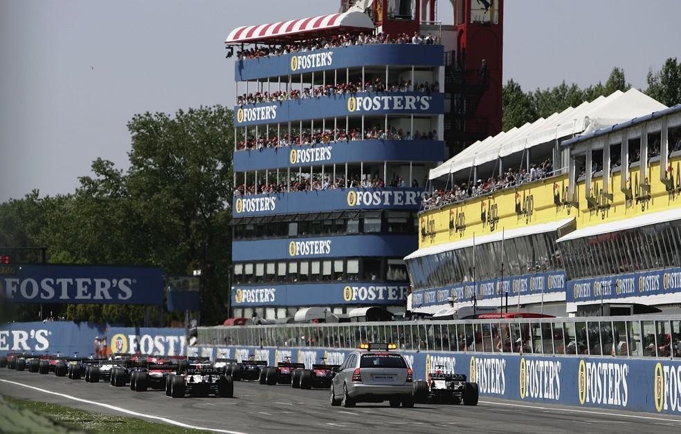 Imola voltará a receber um GP de Fórmula 1 após 14 anos: o último foi em 2006 — Foto: Paul Gilham/Getty Images