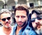 Jean Pierre Noher, Henri Castelli e Cesar Troncoso | Arquivo pessoal