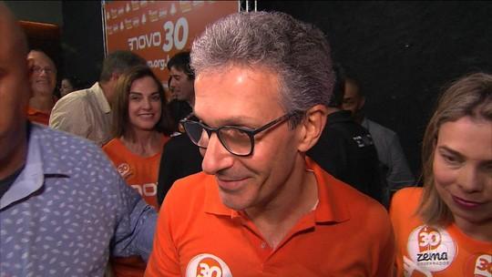 Romeu Zema é eleito governador de Minas