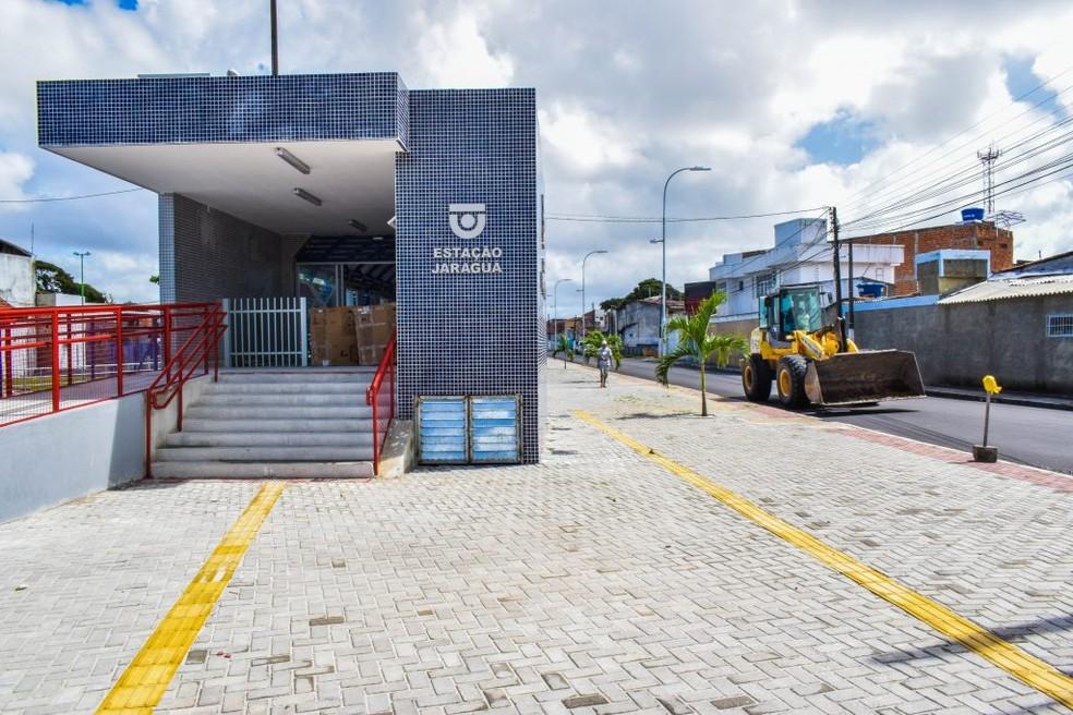 Estação Jaraguá inicia fase de testes na sexta (20) (Foto: Max Monteiro/ Secom Maceió)
