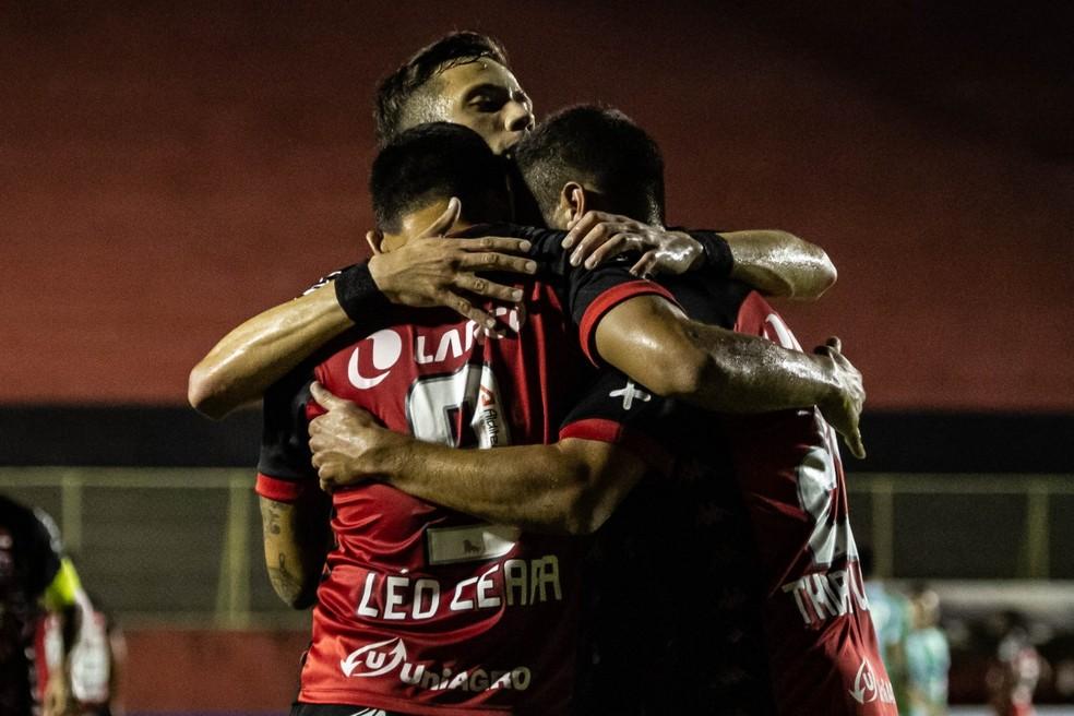 Vitória bateu o Juventude na última rodada da Série B — Foto: Letícia Martins / EC Vitória / Divulgação