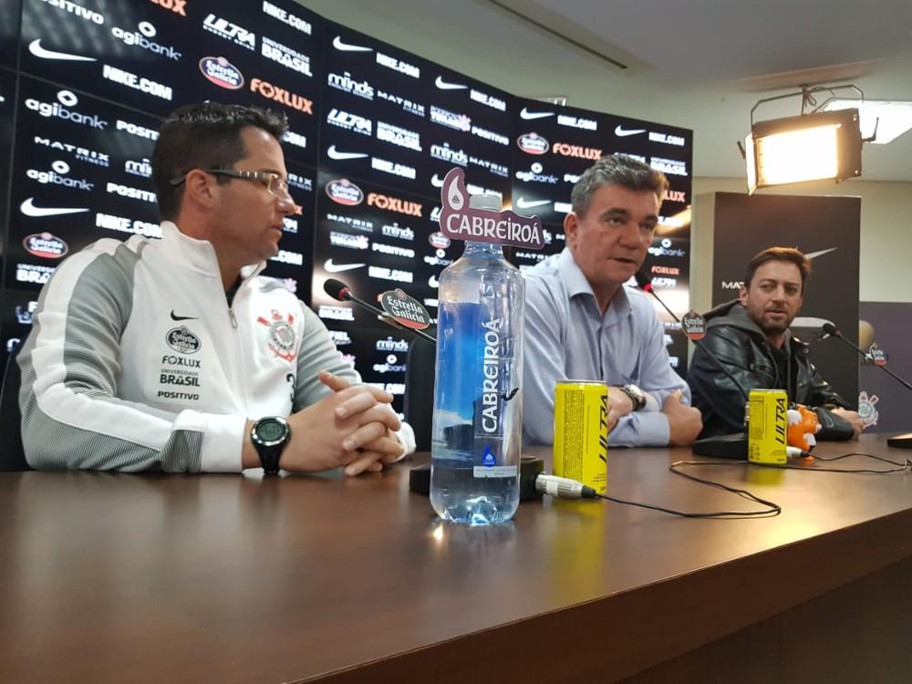 Andrés banca Loss como técnico e admite perder jogadores no Corinthians