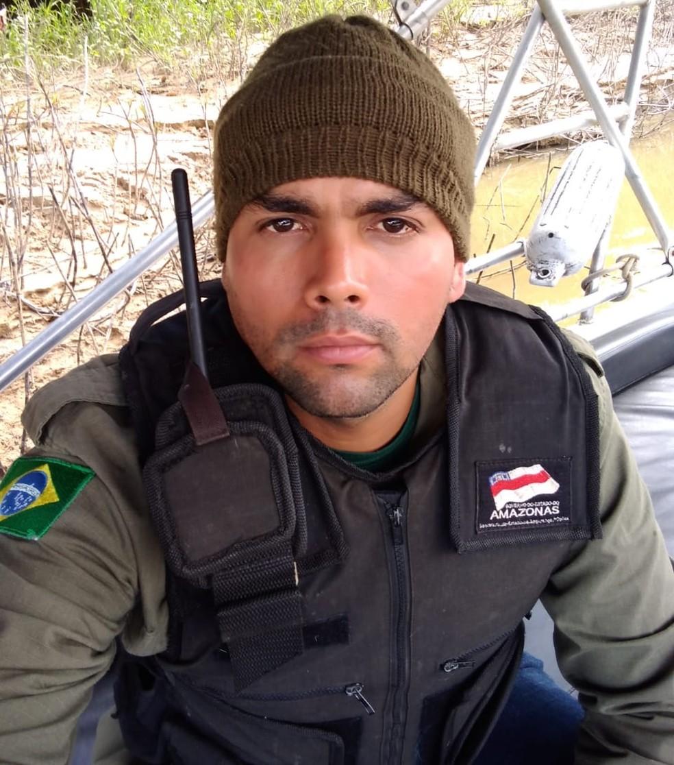 Maxciel Pereira dos Santos trabalhava em uma área de proteção no Vale do Javari. — Foto: Arquivo Pessoal