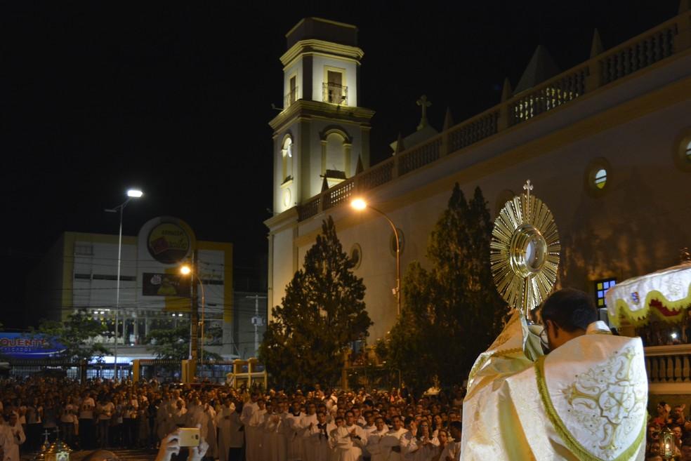 Missas de réveillon acontecem em Campina Grande; foto de arquivo — Foto: João Saraiva/Diocese Campina Grande