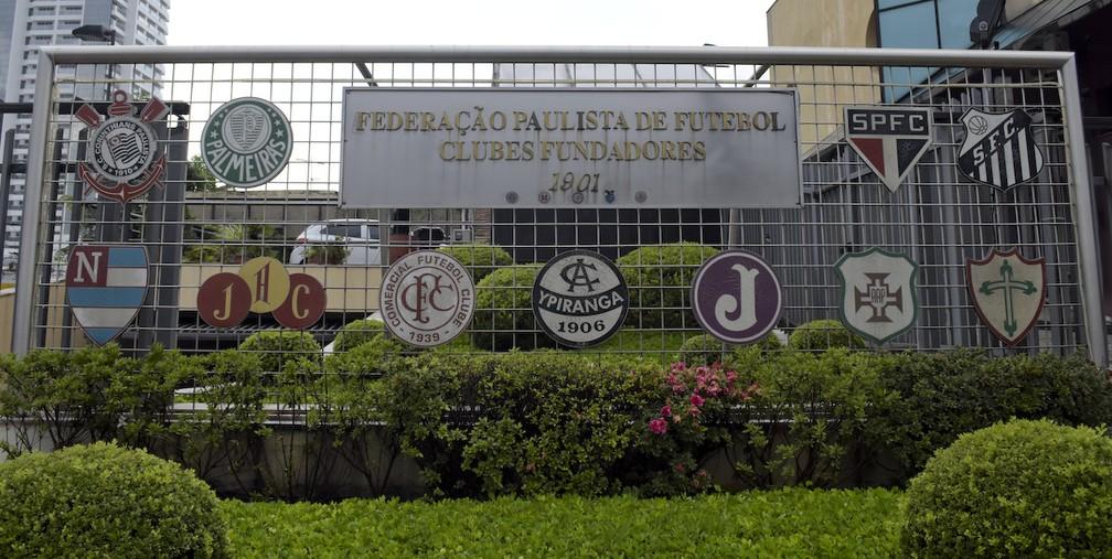 Sede da Federação Paulista de Futebol — Foto: RODRIGO CORSI/FPF