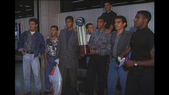 O herói, o artilheiro e a batalha: campeões relembram 25 anos do título da Conmebol