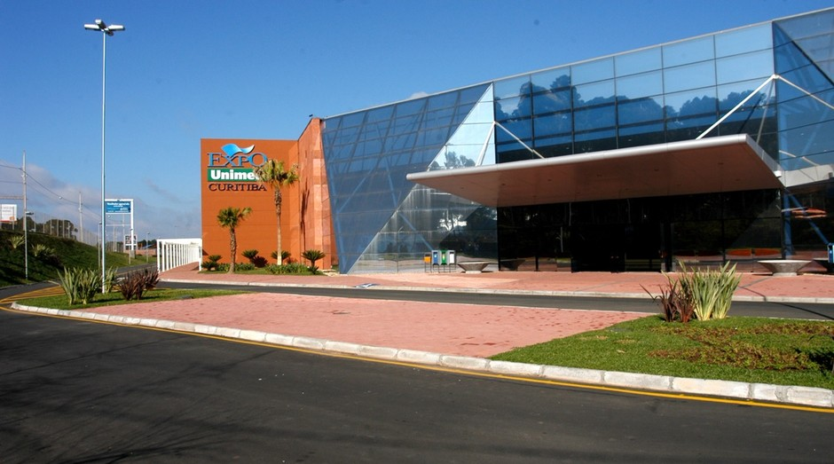 Expo Unimed, em Curitiba, receberá o evento (Foto: Divulgação)