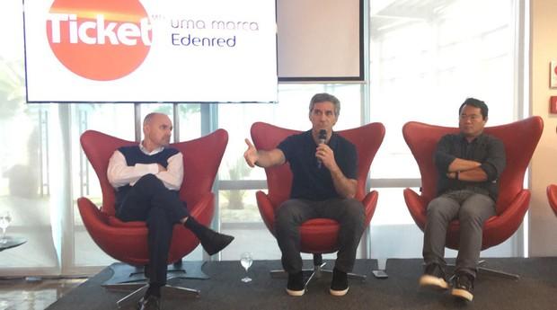 Roberto Bielawski, Mário Chady e Robson Chiba participaram do evento (Foto: Carina Brito/Editora Globo)