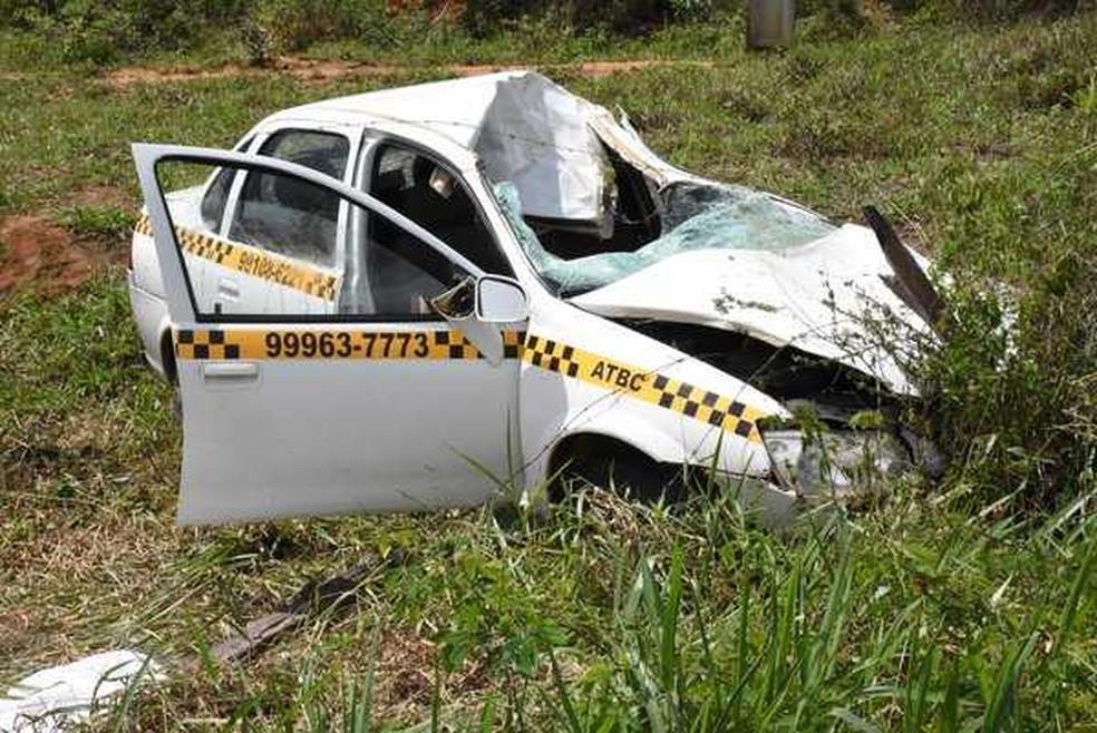 Com a colisão, Josias Matos, que estava indo fazer exames médicos, morreu no local — Foto: Blog do Anderson