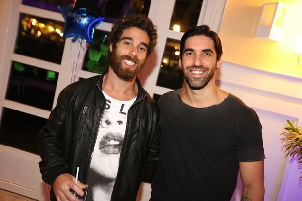 Fabio Croce e Felipe Beriba (Foto: Angelo Santos / Divulgação )