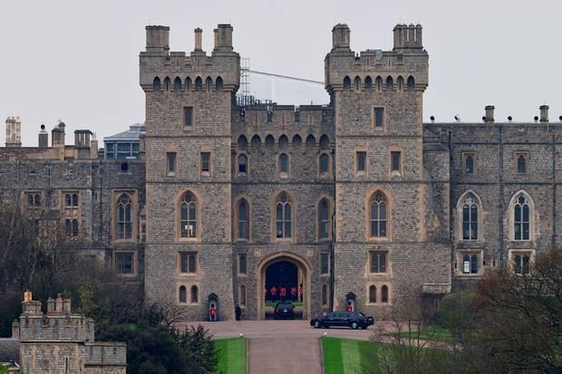 O Adelaide Cottage fica dentro do Castelo de Windsor (Foto: Getty Images/  Reprodução)