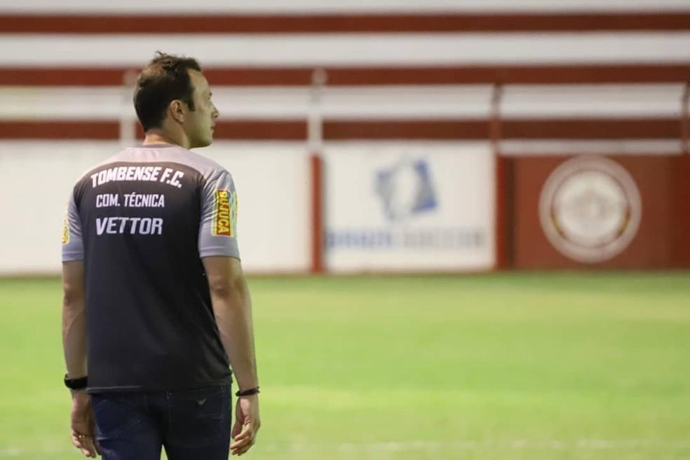 Bruno Pivetti colocou o Tombense em quarto lugar no Mineiro — Foto: Victor Souza/Tombense