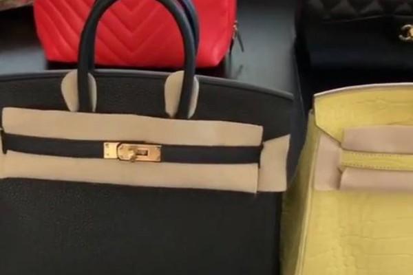 Alguns dos presentes dados pelo rapper Offset para reconquistar a esposa, a cantora Cardi B (Foto: Instagram)