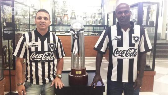 """Campeões do Botafogo em 93 confiam no bi da Sul-Americana: """"Se a gente conseguiu..."""""""