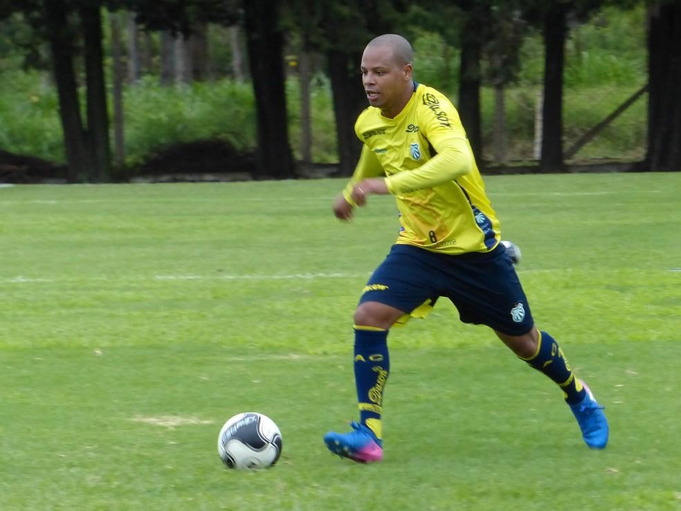 Djalminha não disputou jogos oficiais na temporada (Foto: Renan Muniz/Caldense/Divulgação)