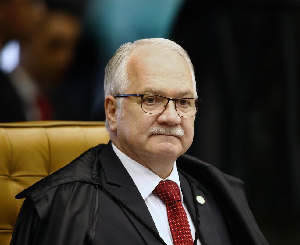 O ministro Luiz Edson Fachin, do Supremo Tribunal Federal — Foto: Rosinei Coutinho/SCO/STF