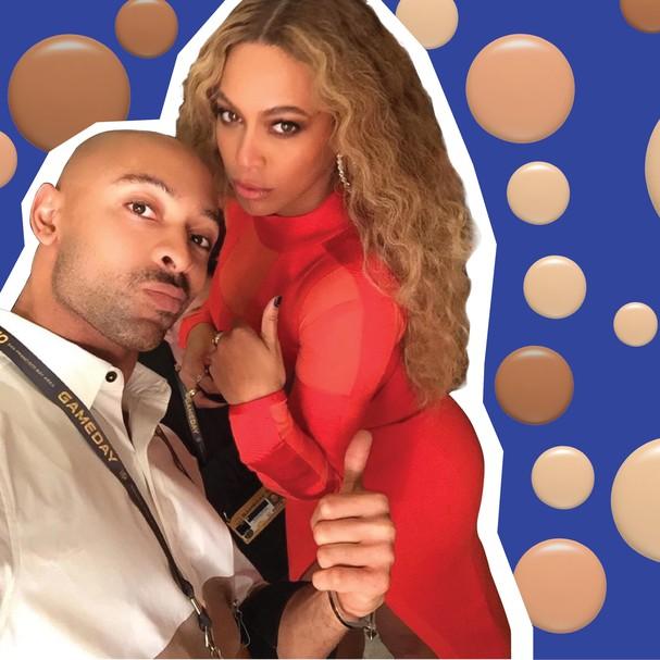 Beyoncé e Sir John (Foto: Reprodução/Instagram)