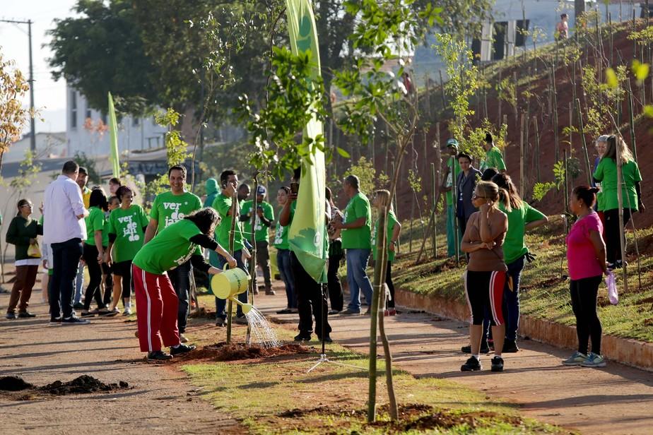 Verdejando promove mutirão em Guarulhos. Confira as fotos.