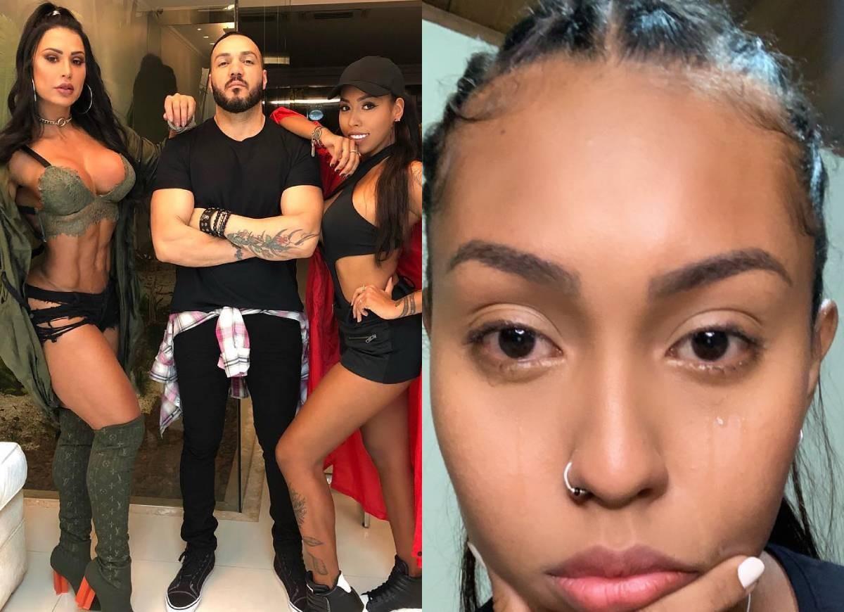 Gracyanne Barbosa, Belo e Giovanna Jacobina; jpvvem chora por prisão do cunhado (Foto: Reprodução/Instagram)