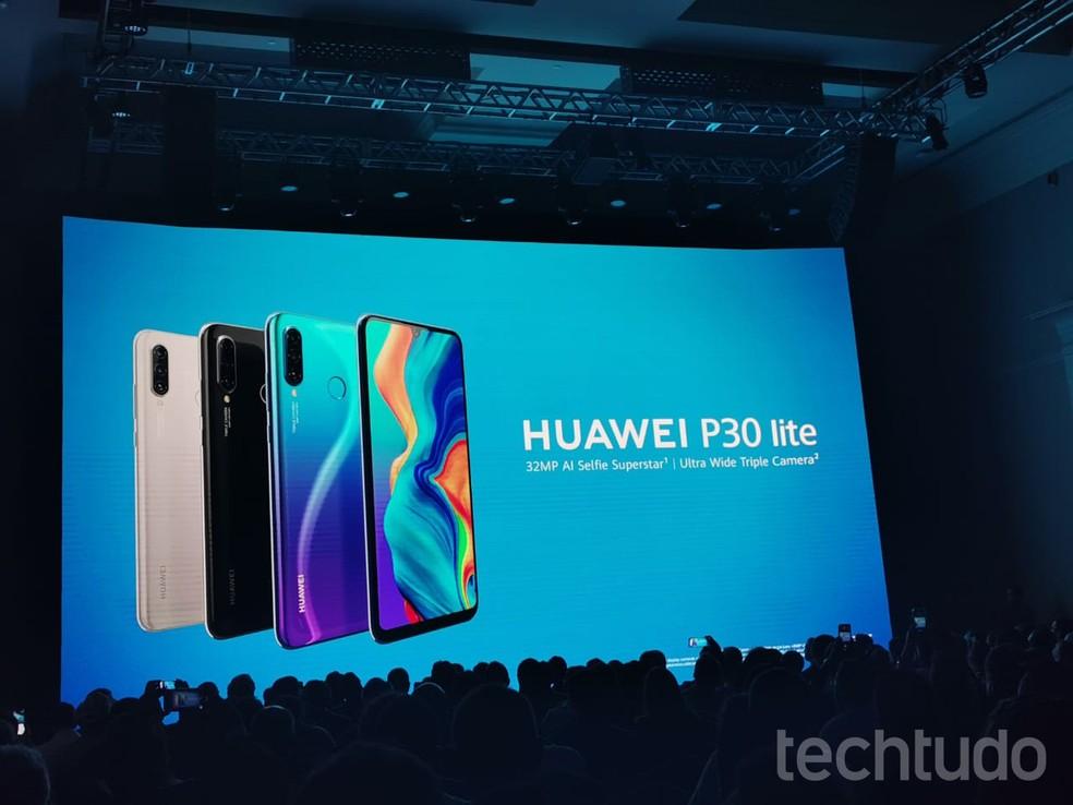 Huawei enfrenta bloqueio por parte do governo dos Estados Unidos — Foto: Nicolly Vimercate/TechTudo