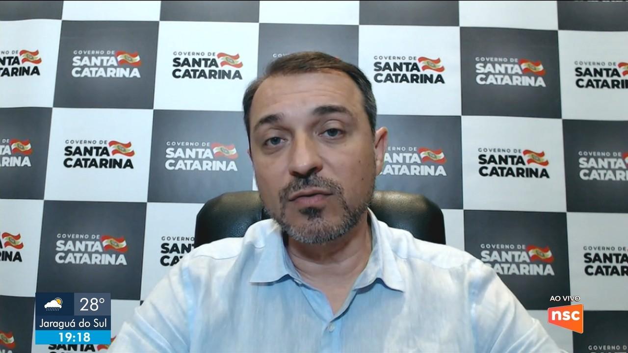Governador Carlos Moisés fala sobre ações de controle ao coronavírus
