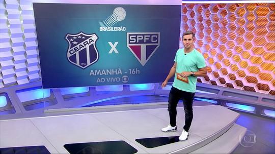 Diego Aguirre faz mistério com escalação do São Paulo para duelo contra o Ceará