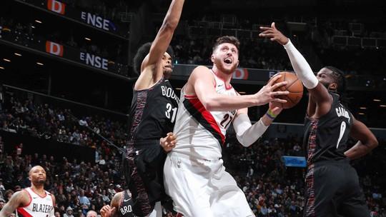 Melhores momentos de Portland Trail Blazers 113 x 99 Brooklyn Nets pela NBA