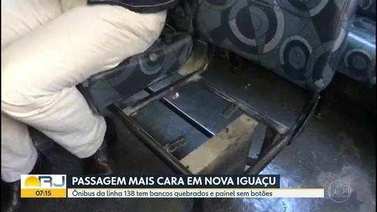 Aumento da passagem dos ônibus pega de surpresa moradores de Nova Iguaçu, RJ