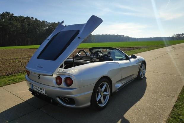 Ferrari 360 Spider Pirata Toyota MR2 (Foto: Reprodução/Mobile.de)