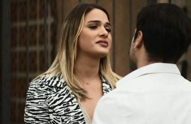 No sábado (31), Britney se recusará a vestir roupas masculinas e será demitida por Fabiana  (Foto: Reprodução)