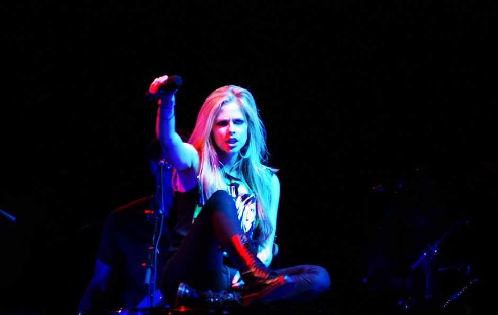 Avril Lavigne encerra turnê no Brasil (Foto: Nina Quintana/Divulgação)