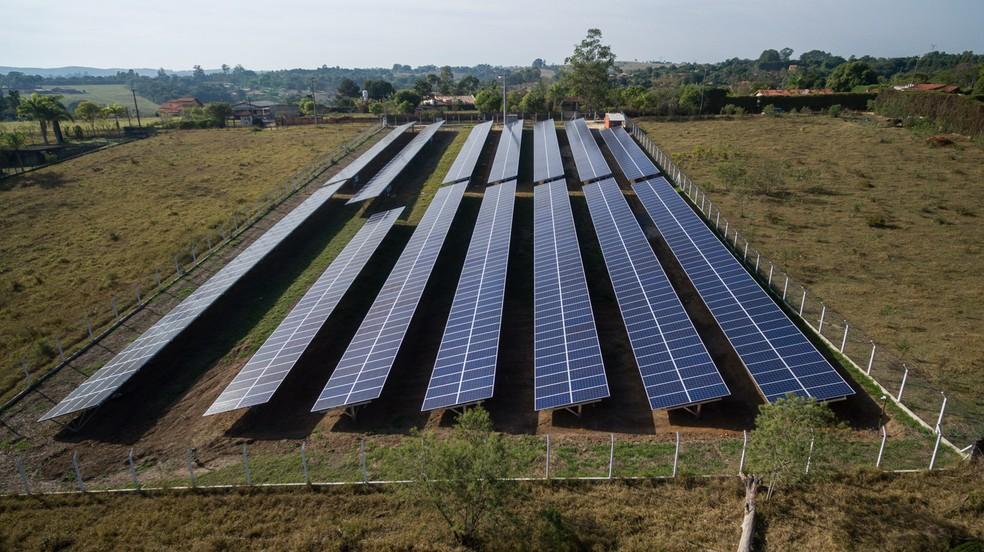 Sistema de energia solar contribui com o meio ambiente e retorna investimento em até 6 anos — Foto: Divulgação/SunMobi