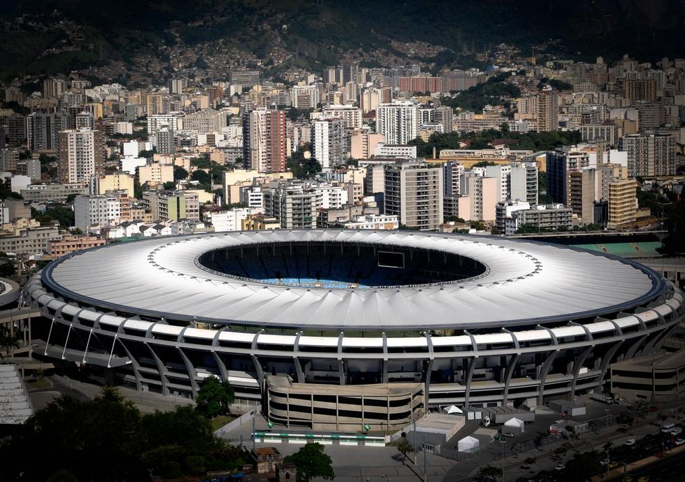 Flamengo e Vasco se enfrentam na quinta, no Maracanã — Foto: André Durão / ge