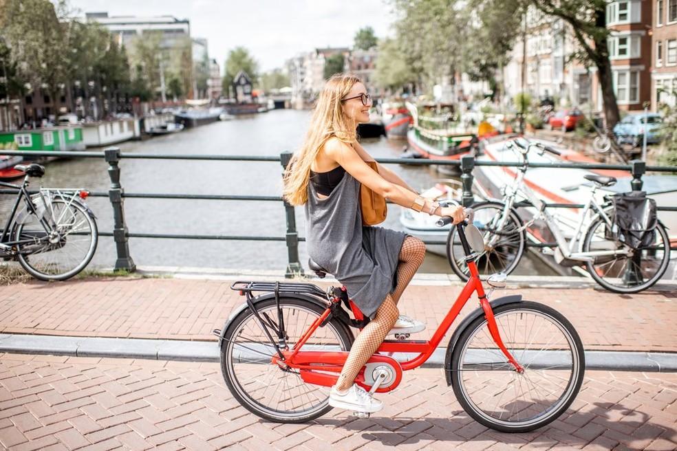 Amsterdã, na Holanda (Foto: Divulgação)