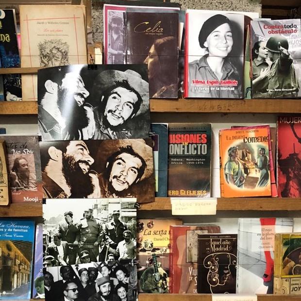 Livraria Venecia, em Havana (Foto: divulgação)