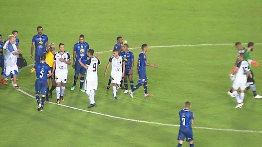 Entenda os lances que geraram polêmicas de arbitragem no jogo entre Botafogo-PB e Atlético-PB