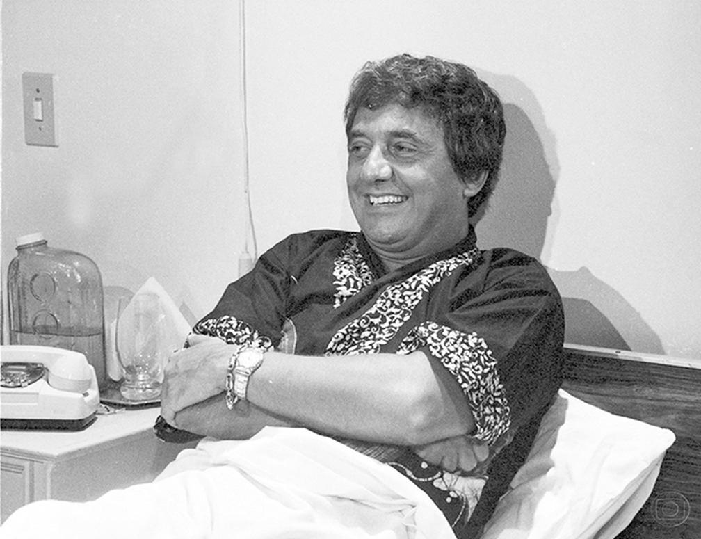 Agildo Ribeiro em 'Final Feliz', em 1982 (Foto: Geraldo Modesto/TV Globo)