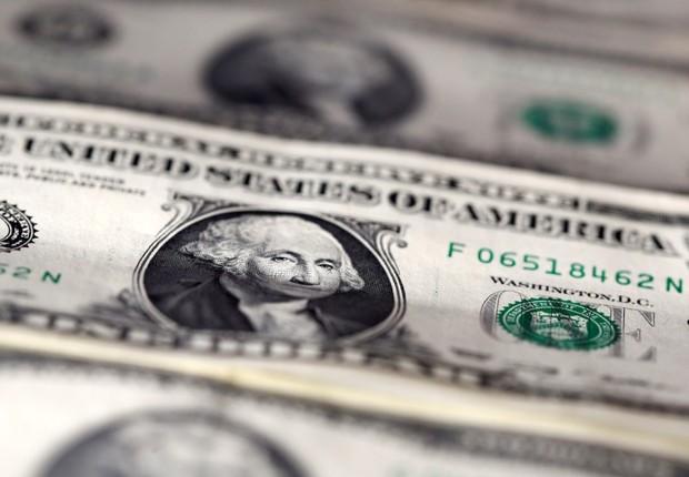 Dólar ; dólares ; moeda norte-americana ; câmbio ; Tesouro dos EUA ; Tesouro Americano ;  (Foto: Dado Ruvic/Illustration/Reuters)